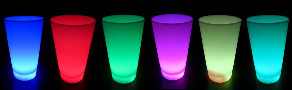 Light Up Glow Cups