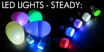 Glow in the Dark Easter Eggs with LED Lights