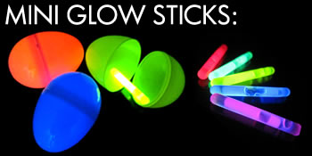 Mini Glow Sticks for Easter Eggs