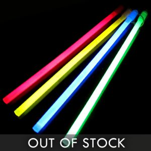 "12"" Large Glow Sticks Assorted Color Mix"