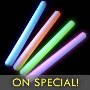 15 Inch Foam Glow Sticks