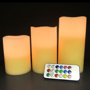 Flameless LED Remote Candles