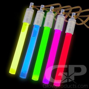 4 Inch Glow Sticks Assorted Color Mix