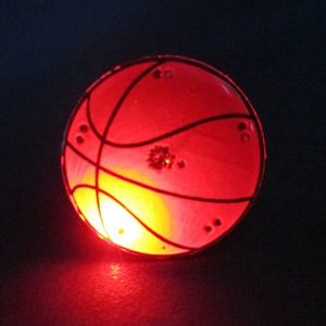 Basketball Flashing Pin Body Lights