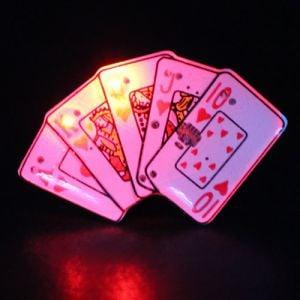 Royal Flush Flashing Pin Body Lights