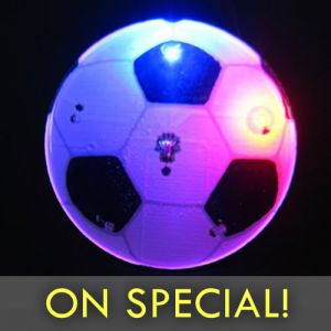 Soccer Ball Flashing Pin Body Lights