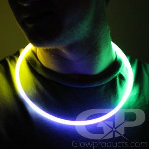 Glow Necklaces 3 Color Mardi-Gras