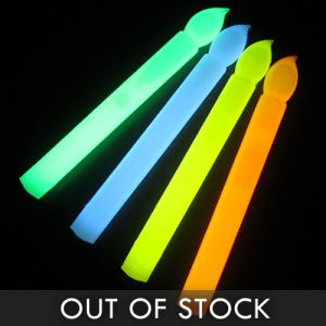 Assorted Color Glow Stick Candle Pack