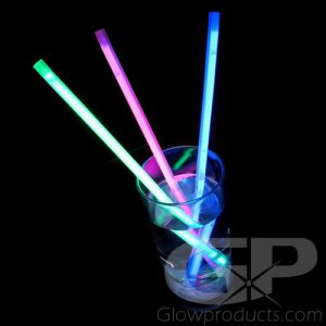 Light Up Glow Straws for Drinks