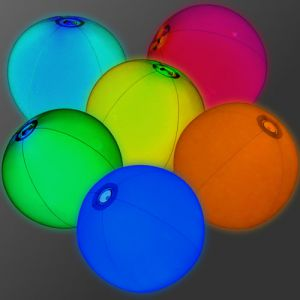 Glowing Beach Balls