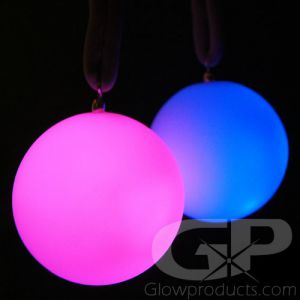 Light Up LED Glowing Poi Balls