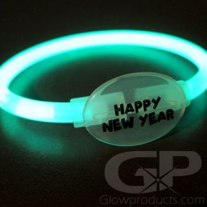 Glowing New Years Glow Sticks Bracelets