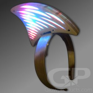 Light Up Glowing Shark Fin Headband
