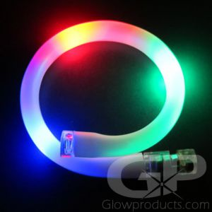 Battery Glow Bracelets Flashing Colors