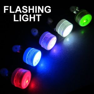 Flashing LED Mini Clip Lights Assorted Color Mix