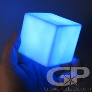Light Up LED Decor Cube Lamp Light Up Centerpiece