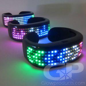Animated Display LED Bracelets