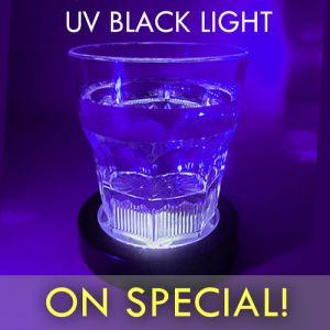 Black Light Drink Coasters
