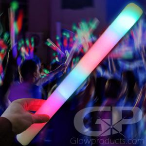 LED Foam Light Sticks Cheer Wands