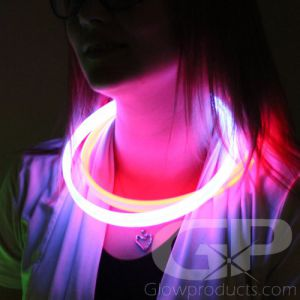 22 Inch Twister Glow Necklaces - Assorted Color Mix