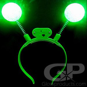 Glowing Alien Headband Bopper