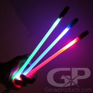 Glowing LED Marker Sticks