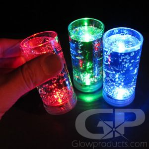 Glowing Light Up Shooter Glasses with LED Lights