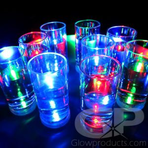 Light Up Glowing Shot Glasses