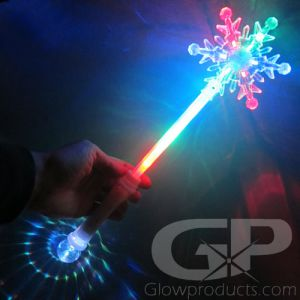 Snowflake Light Up Princess Wand