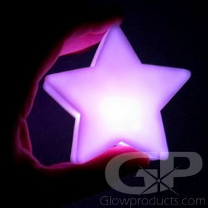 Glowing LED Star Lamp