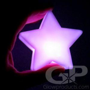 Glowing LED Star Lamp