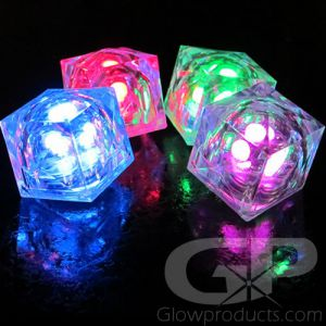 Light Up LED Glowing Ice Cubes
