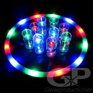 Light Up Serving Tray with Glowing LED Lights