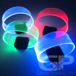 LED Wristbands Glow Bracelets Magnetic Clasp