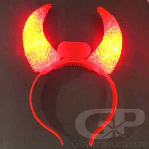 Light Up Devil Horns