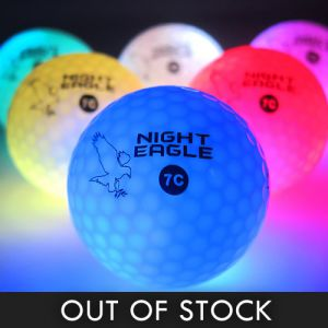 Glowing LED Golf Balls with 8 Color Modes