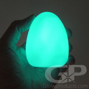 Light Up LED Egg Orb Mini Lamp