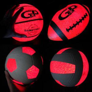Light Up Glowing Sports Balls