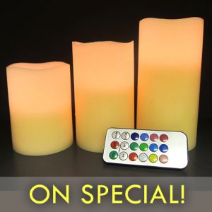 Flameless LED Candles with Remote
