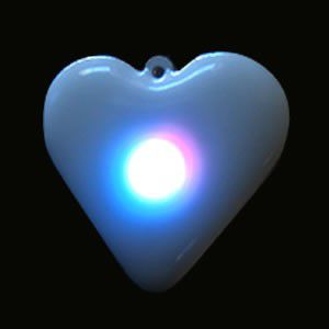 Color Changing Rainbow Heart Body Lights