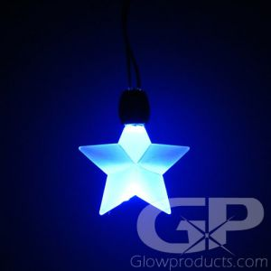 Glowing Star Light Up Pendant Necklaces