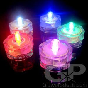 Submersible LED Water Lights