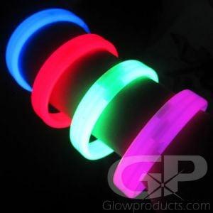 8 Inch Wristband Glow Bracelets