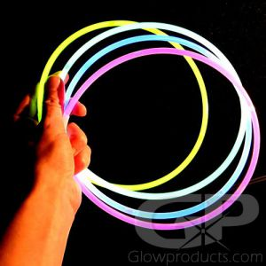 22 Inch Standard Glow Necklaces - Assorted Color Mix