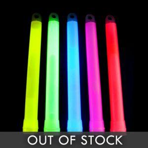 "6"" Bulk Glow Sticks Assorted Colors"