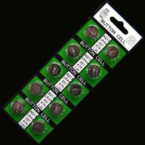 AG13 Batteries - Pack of 10