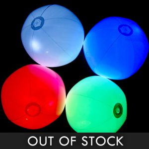 Light Up Beach Balls Assorted Color Mix