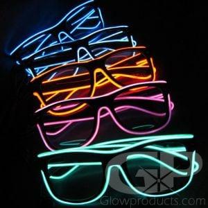 Light Up Rave Glasses