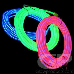 Glowing EL Wire Kits