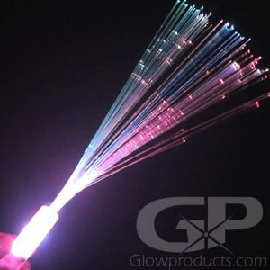 Fiber Optic Wands with 6 Color and Light Modes